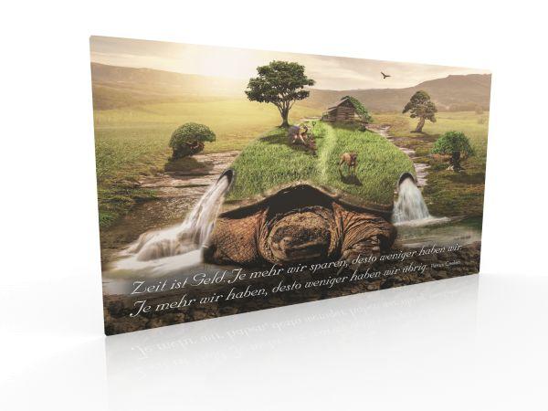 "Inspirationskarte ""Zeit ist Geld"""