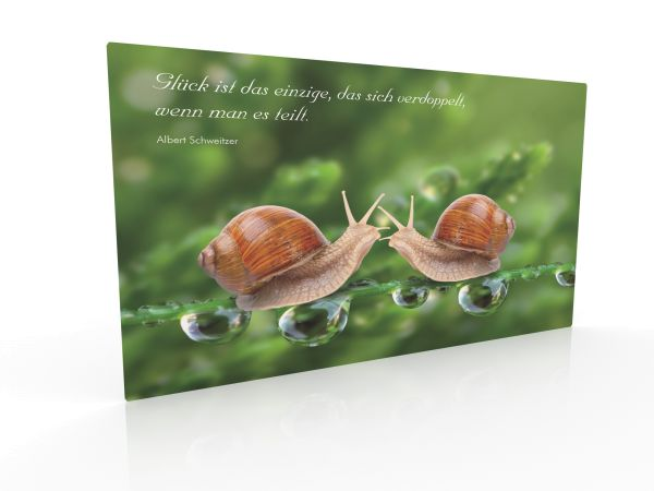 """Inspiration Card """"Share Happiness"""