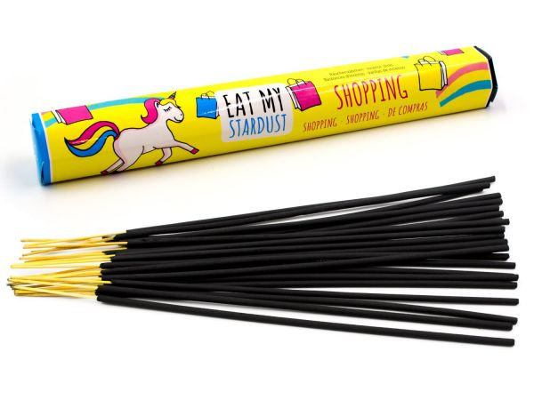 """Girls incense sticks """"Shopping"""" with bubble gum scent"""