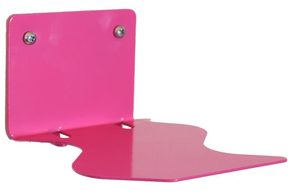 Floating books magenta, design edition in S-shape