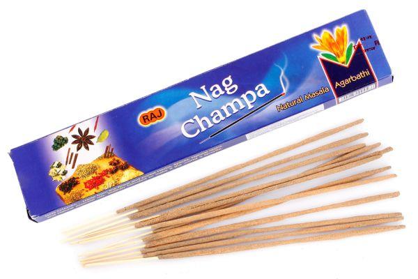 Räucherstäbchen Nag Champa Natural Masala Agarbathi (rechteckig)