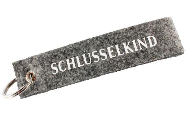 "Filz Schlüsselanhänger ""Schlüsselkind"""