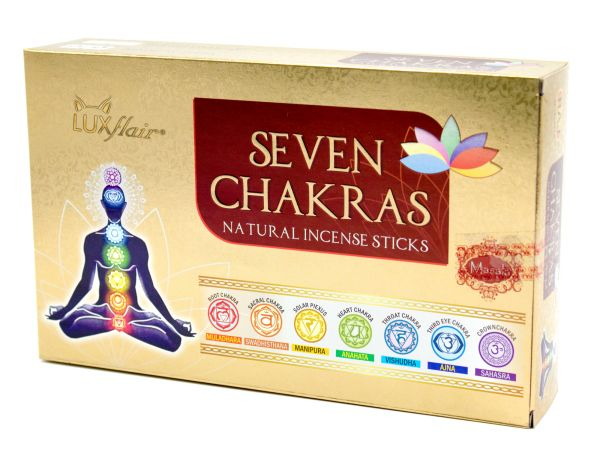 Masala Chakra Incense Sticks Set - 7 Chakras