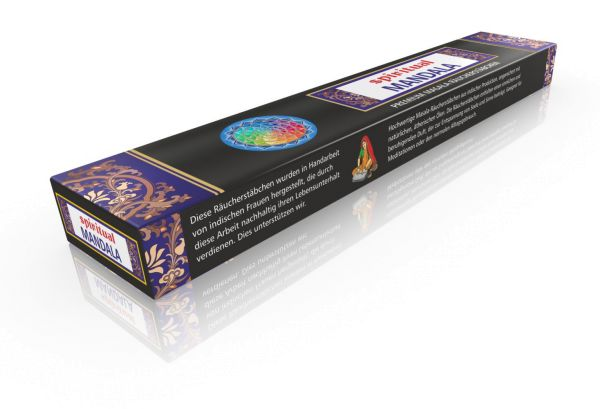 Masala Incense Spiritual Mandala