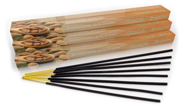 Almond Incense Sticks Set of 10