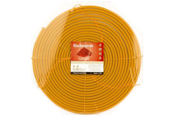 3 Tage Räucherspirale mit Sandelholz-Duft