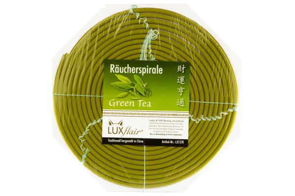 1 Tag Räucherspirale mit Grüner Tee Duft