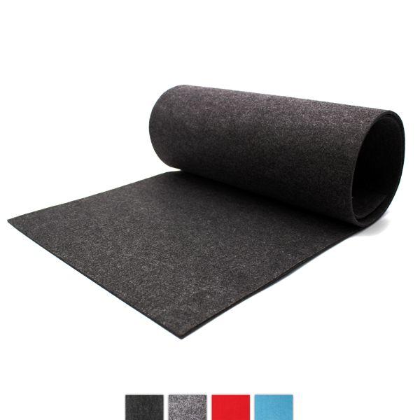 Felt table runner anthracite CASORO, 40x150