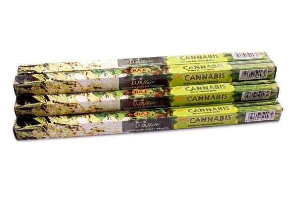 10er Set Cannabis Räucherstäbchen