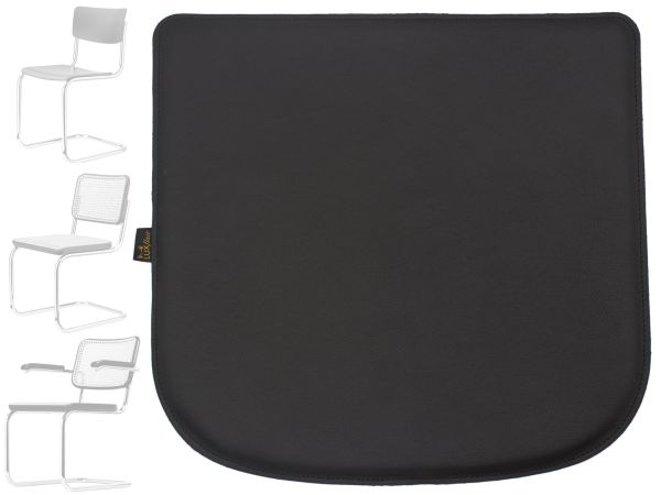 Echt-Leder Sitzkissen für Stuhl Breuer Thonet 80-S32-S43-S64 Sitzauflage