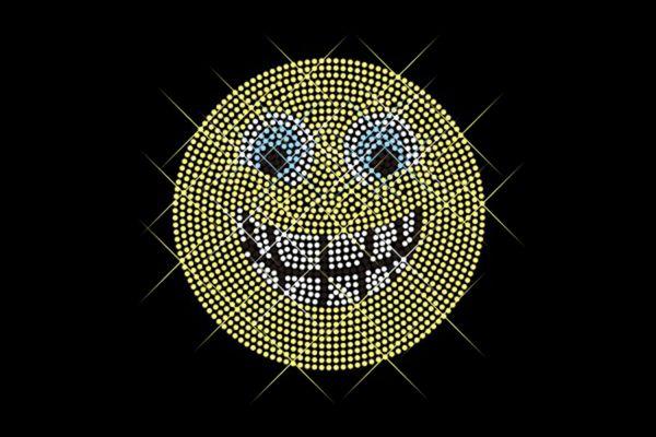 """Strassstein Motiv """"Emoji Lachen"""""""