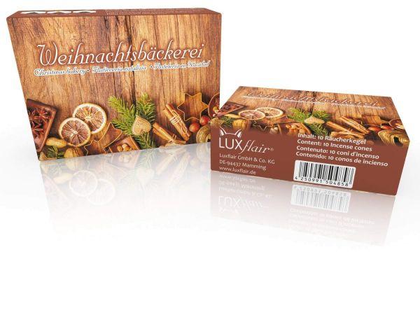 Räucherkegel: Weihnachtsbäckerei