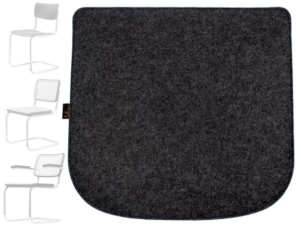 Felt seat cushion for chair Breuer Thonet 80-S32-S43-S64 seat cover