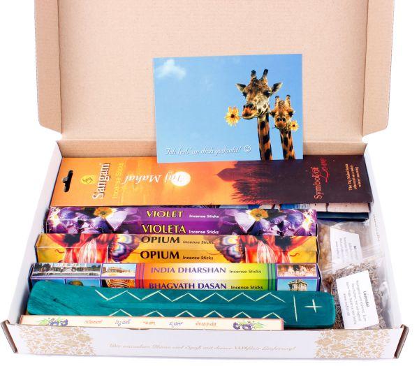 XXL Premium Räucherstäbchen Probierset (183 Teile) zur Meditation und Entspannung