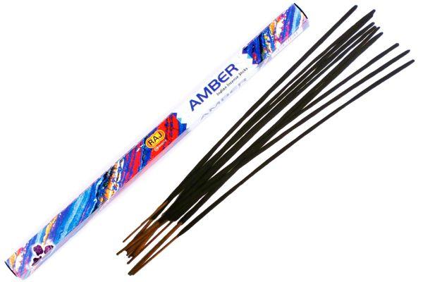 Incense sticks amber
