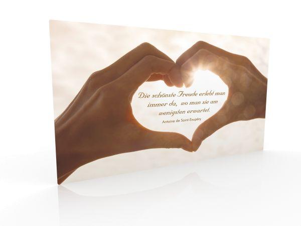 "Inspiration Card ""Experience Joy"