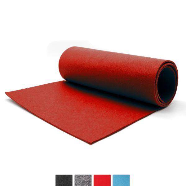Filz Tischläufer rot CASORO 40x150