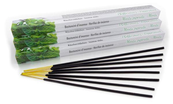 Bâtonnets d'encens menthe poivrée set de 10