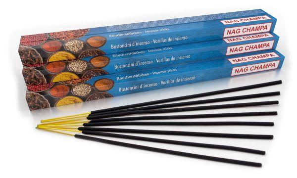 Incense sticks Nag Champa, XL Set with 10 packs