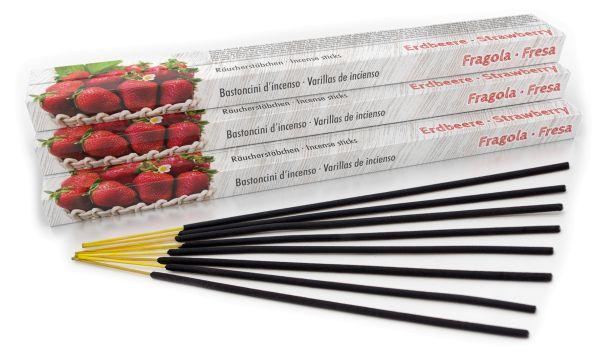 Bâtonnets d'encens Strawberry Set of 10