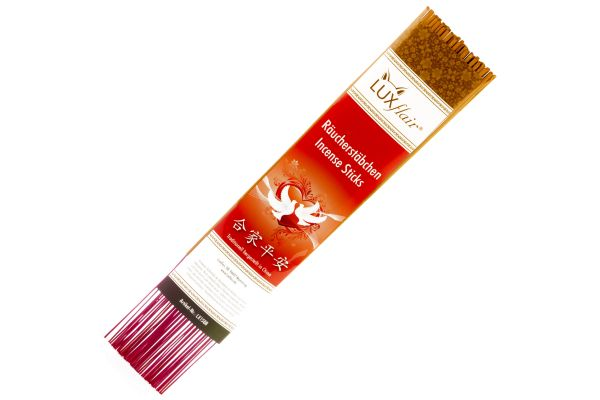"""XL Chinese incense sticks """"I love you"""" with rose fragrance"""