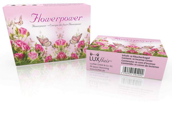 Cônes d'encens : Flowerpower