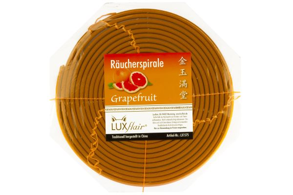 1 Tag Räucherspirale mit Grapefruit-Duft