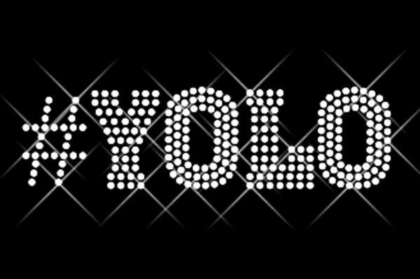 """Strassstein Motiv """"#YOLO"""""""
