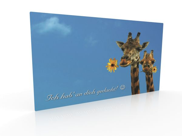 """Inspiration card """"Thought of you"""