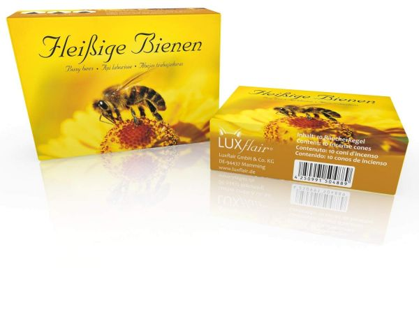Räucherkegel: Fleißige Bienen