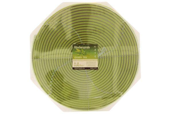 7 Tage Räucherspirale mit Grüner Tee Duft