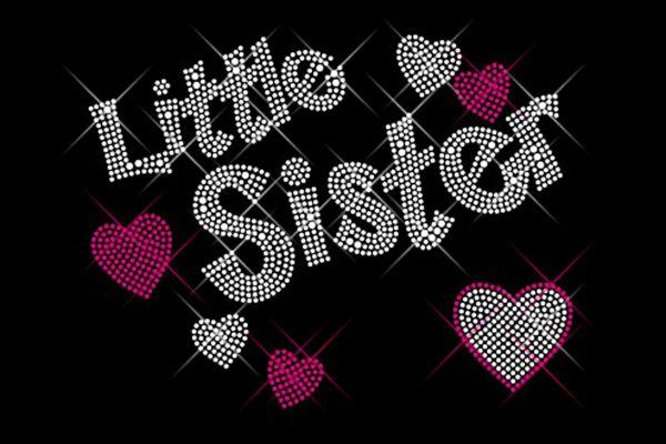 """Strassstein Motiv """"Little Sister"""""""