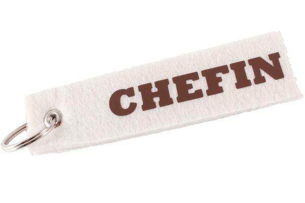 """Filz Schlüsselanhänger """"Chefin"""""""