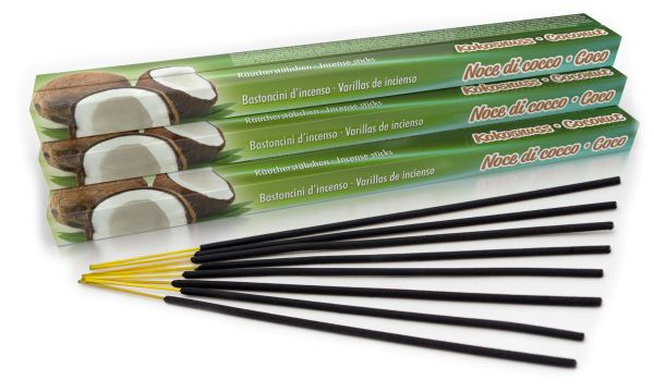 Bâtonnets d'encens Coconut Set of 10