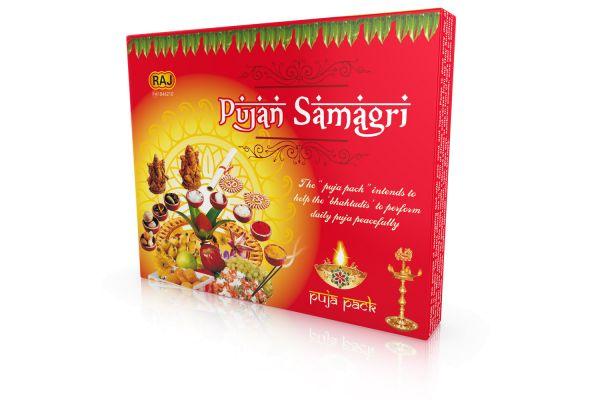Puja Set / Hinduismus Pooja Kit