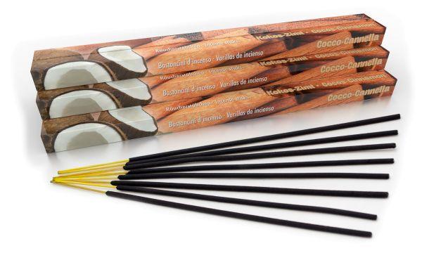 Bâtonnets d'encens Noix de coco Cannelle Set of 10