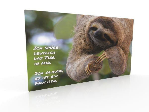 "Inspiration card ""Sloth"