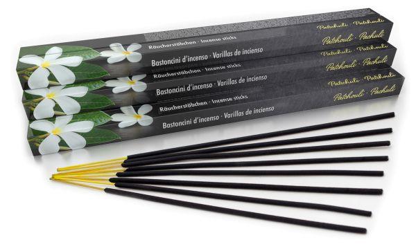 Bâtonnets d'encens patchouli 10er Set