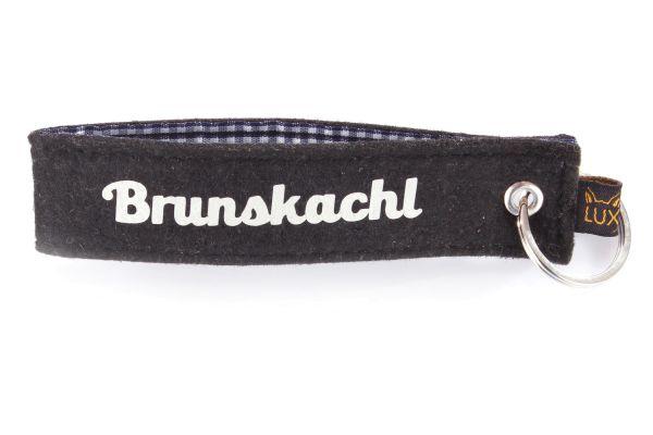 Bayerischer Filz Schlüsselanhänger Brunskachl