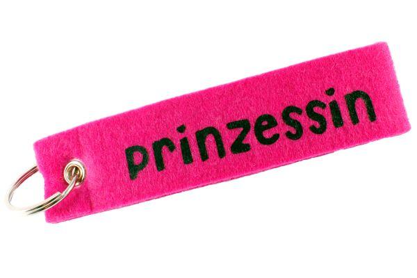 """Filz Schlüsselanhänger """"Prinzessin"""""""