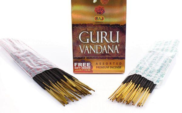 Bâtonnets d'encens Guru Vandana
