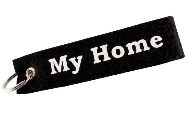 """Filz Schlüsselanhänger """"My Home"""""""