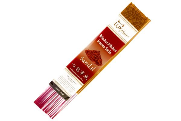 XL incense sticks sandalwood fragrance (from China, approx. 30cm height)